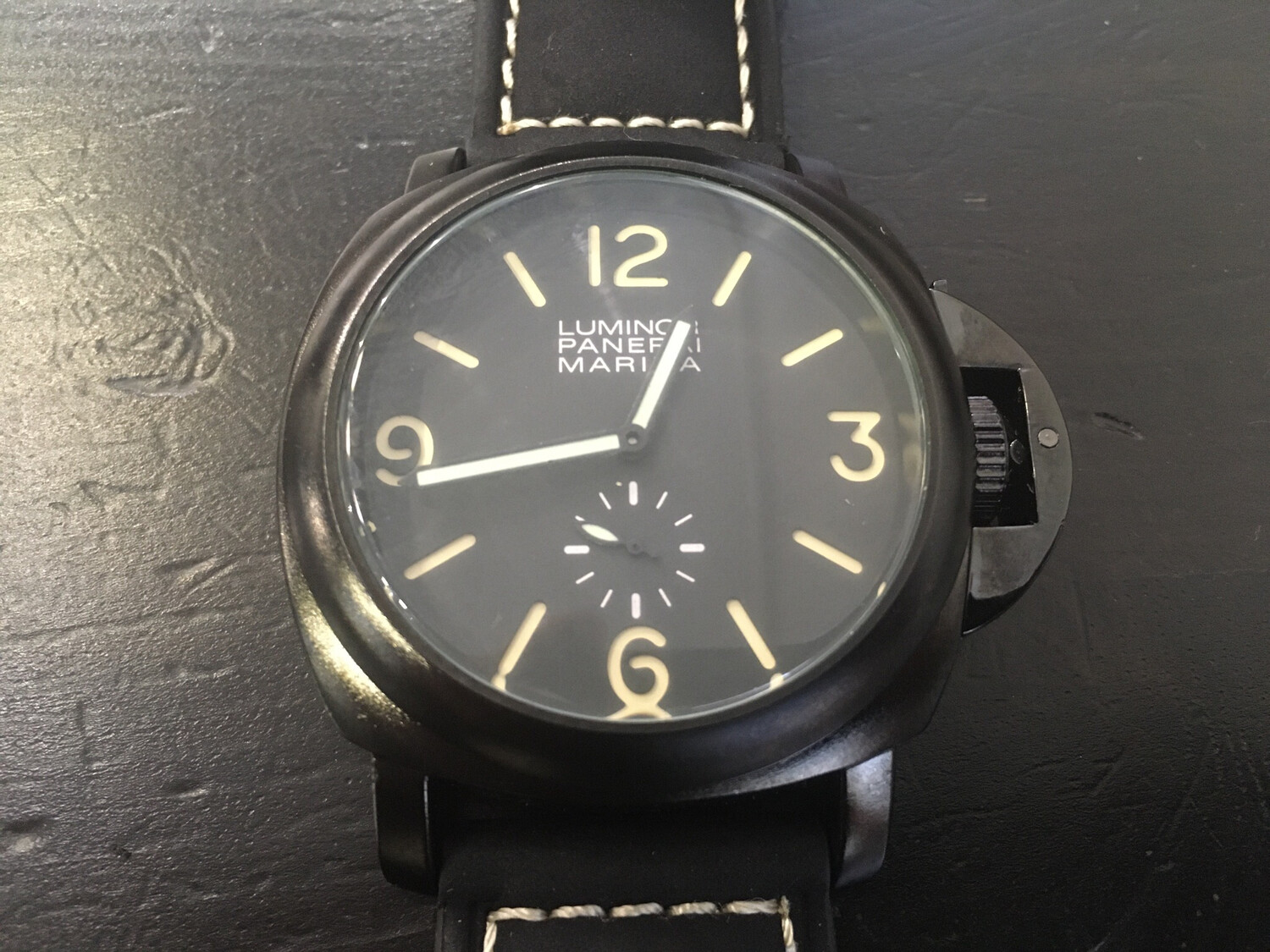 Panerai Marina watch men's quartz