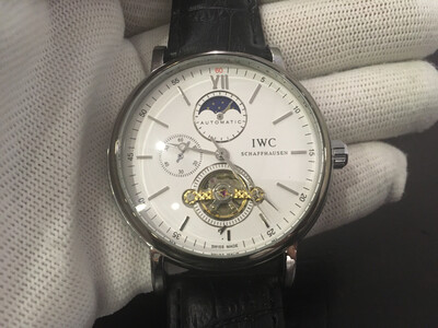 IWC watch men's automatic mechanic