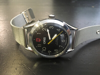 Oris mechanic watch mens