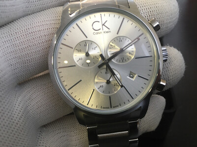 Calvin Klein watch mens chronograph