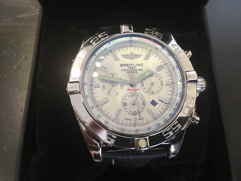 Breitling watch mens mechanic watch