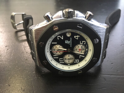 Audemars Piguet watch mens quartz chronograph