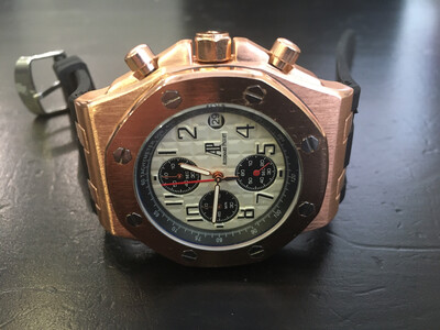 Audemars Piguet watch mens quartz chronograph