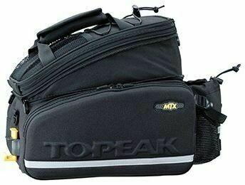 TOPEAK TT9648B MTX DX TRUNKBAG W/BOTTLE HOLDER
