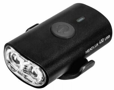 TOPEAK TMS089B HEADLUX 450-lm USB RECHARGE LIGHT