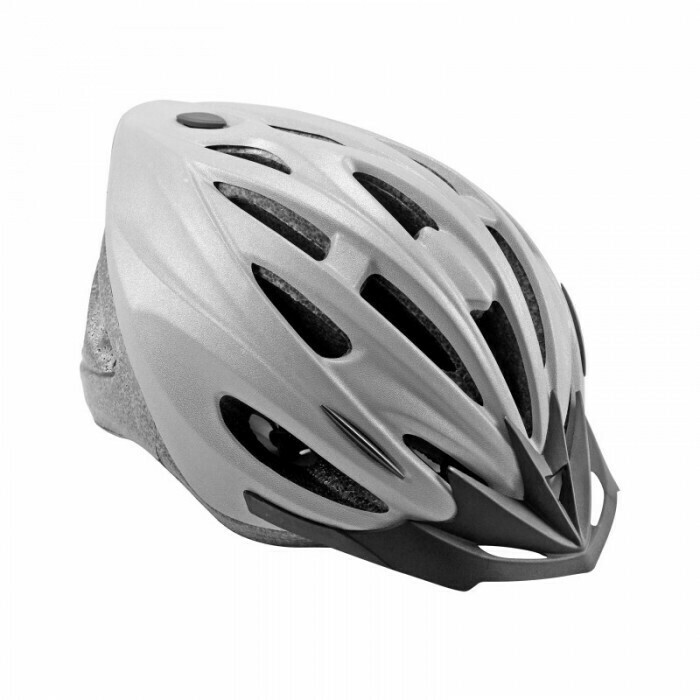 Cycle Force | Reflective Gray 1500 ATB Helmet in XL 58-61 cm