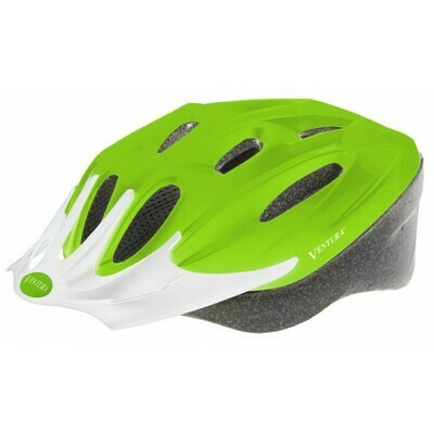 Ventura | Matte Green Sport Helmet L (58-61 cm)