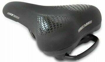 DELTA MEMORY FOAM COMFORT SADDLE 255x220mm