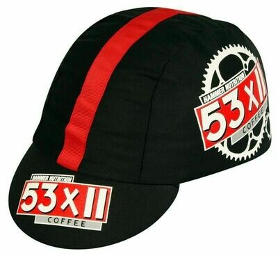COTTON CAP - 53x11 HAMMER NUTRITION COFFEE