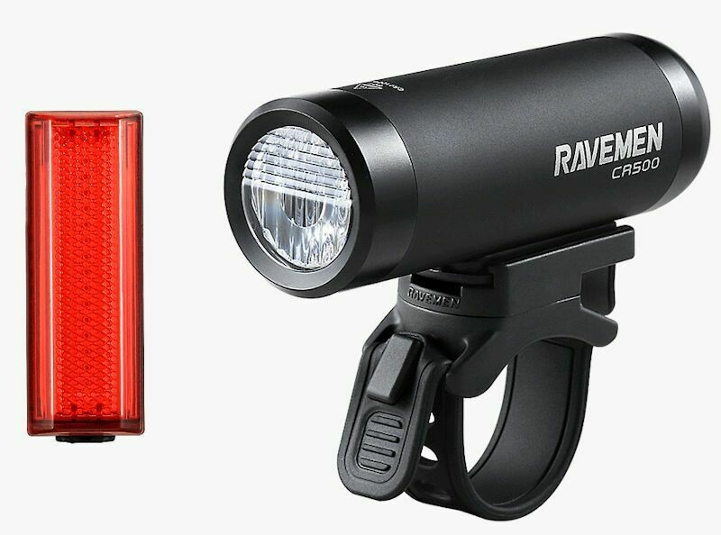 RAVEMEN LS-CT01 CR500/TR20 USB RECHARGE LIGHTSET
