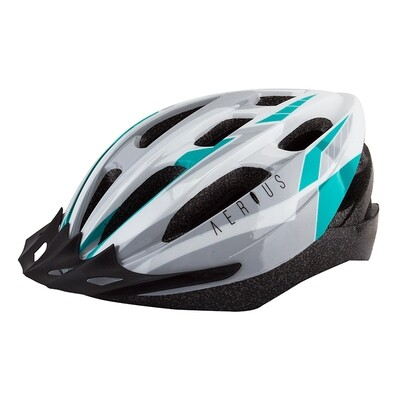 AERIUS V19-SPORT HELMET XL Silver/Turquoise