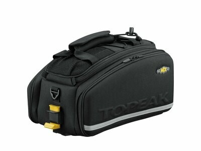 TOPEAK TT9647B MTX EXP TRUNKBAG W/BOTTLE HOLDER AND PANIERS