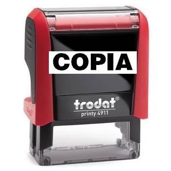 Trodat Printy 4911 commerciale (con 38 diciture a scelta)