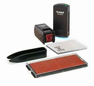 Trodat Printy 4921 dryteq Typomatic Kit completo, nero