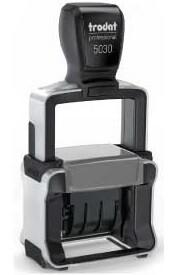 Datario automatico trodat Professional 5430/L con placche a scelta