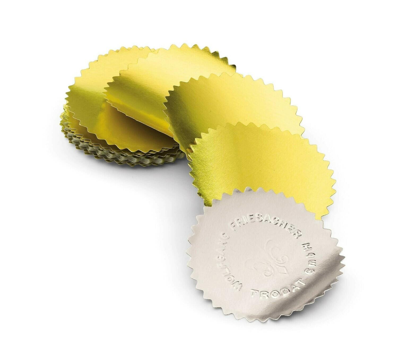 Etichetta adesiva per presse a secco