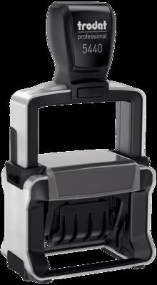 Datario automatico trodat Professional 5430 con placca di gomma