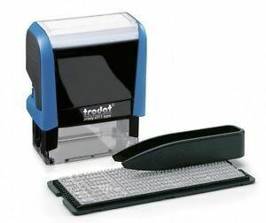 Trodat Printy 4911 dryteq Typomatic Kit completo, nero