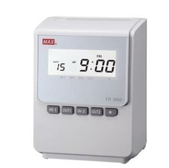 Timbra cartellini ER-1600