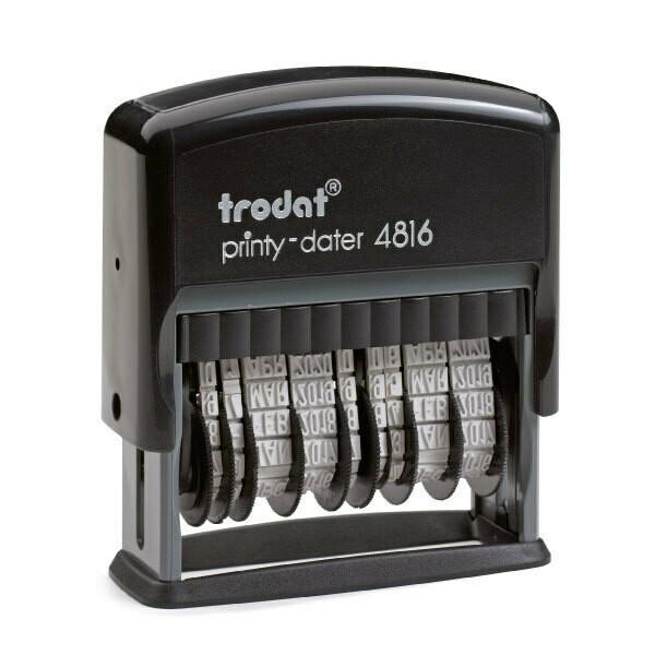 Datario automatico trodat Printy 4816 con doppia data