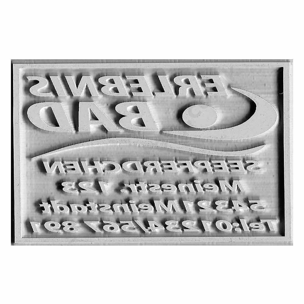 Placca per trodat Printy 4913 / Colop Printer 40
