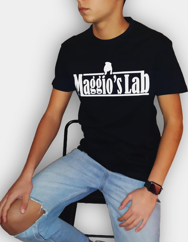 T-shirt manica corta in cotone colore nero - Bully Black