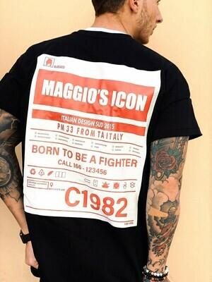 Smanicato in cotone stampa brendizzata - Short Sleeved C1982