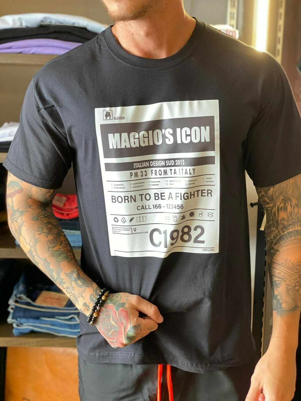 T-shirt C1982 black
