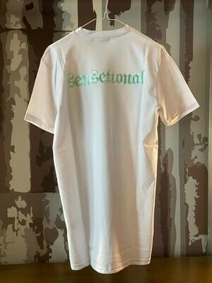 T-Shirt Sensetional white ricamo
