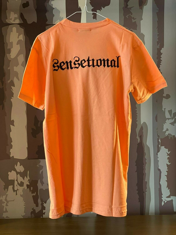 T-Shirt Sensetional Orange ricamo