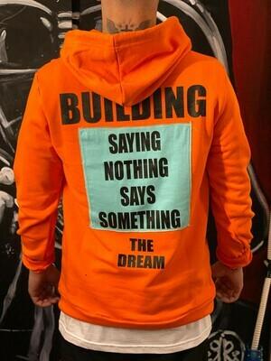 Felpa BUILDING orange