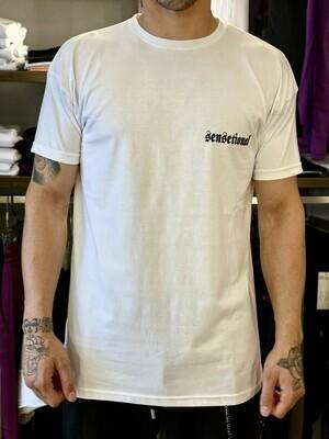 T-Shirt Sensetional stampa white