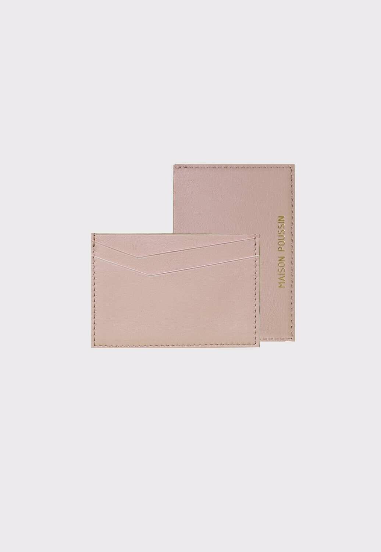 Porte cartes | Rose blush