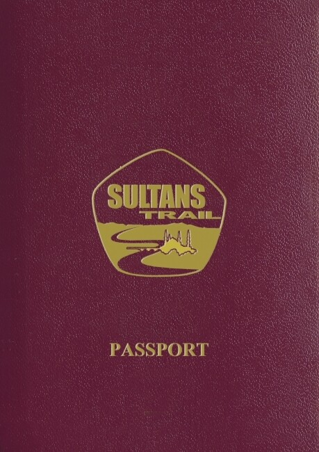 Sultans Trail friend and hiking passport