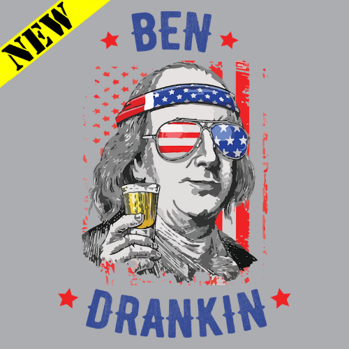 Buy Now! : Ben Drankin 4th Of July Benjamin Franklin Drinking T Shirt - TSHIRTVILA.com