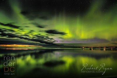 Aurora Candle Lake 36x48