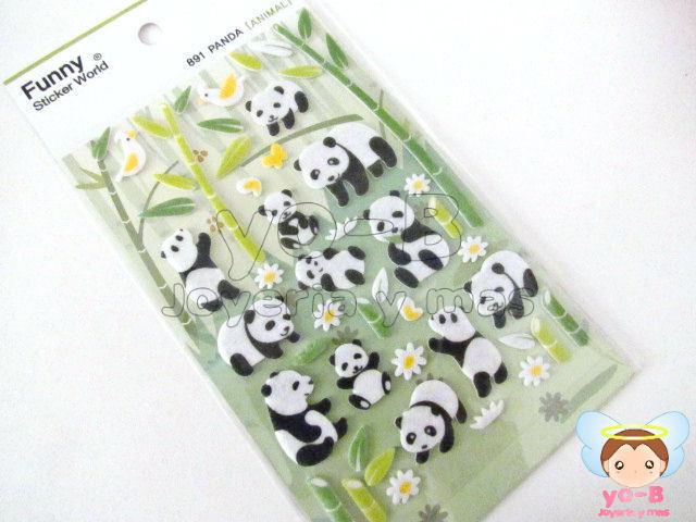 Sticker de fieltro PANDA