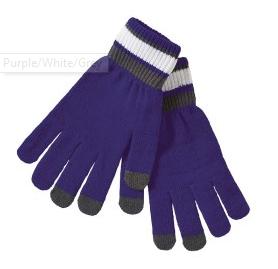 Comeback Gloves - Purple/White/Grey