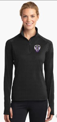 Sport-Tek® Ladies Sport-Wick® Stretch 1/2-Zip Pullover