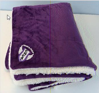 "Micro Mink Sherpa Blanket Size: 50"" X 60"