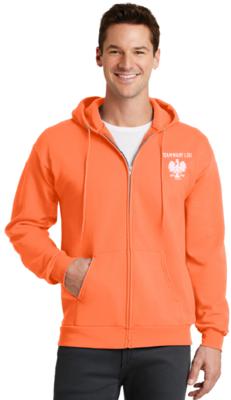 Fleece Full-zip Hooded Sweatshirt