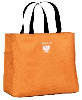 Orange Tote with logo