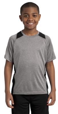 Youth Short Sleeve Colorblock Shirt