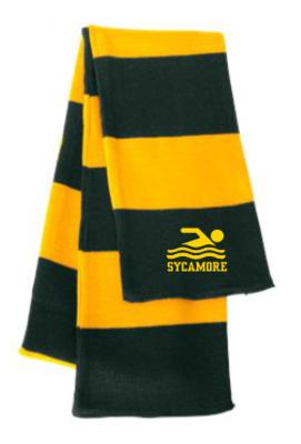 Sportsman - Rugby-Striped Knit Scarf - SP02