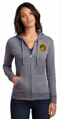 Women's Fitted Jersey Full-Zip Hoodie