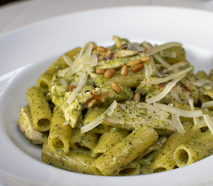Rigatoni Pesto    - Half Tray