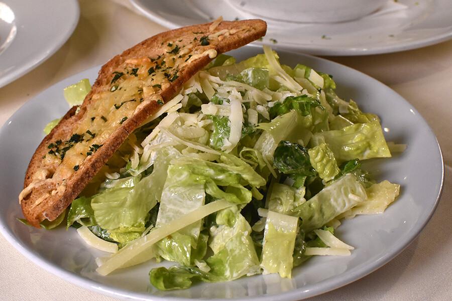 Gluten-Free Insalata di Caesar