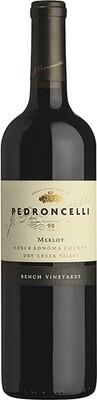 "* Merlot, Pedroncelli, ""Bench Vineyard"", Sonoma, 2016"