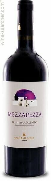 """* Primitivo di Salento, """"Mezzapezza"""", Trullo di Pezzo, Puglia, 2015"""