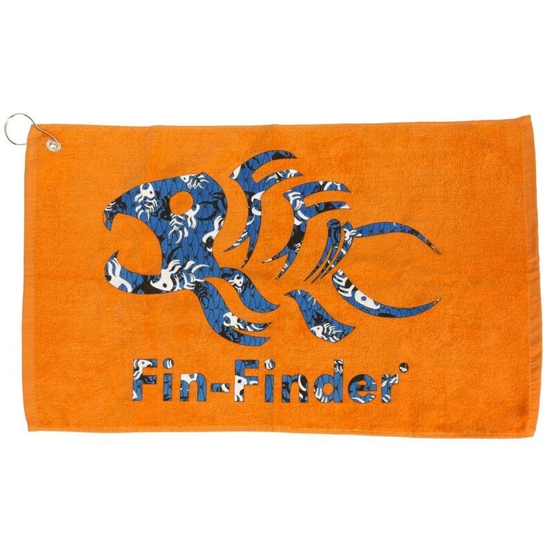 Fin Finder Hand Towel Fin Finder Camo/orange